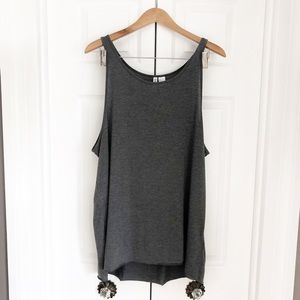 H&M grey muscle tank